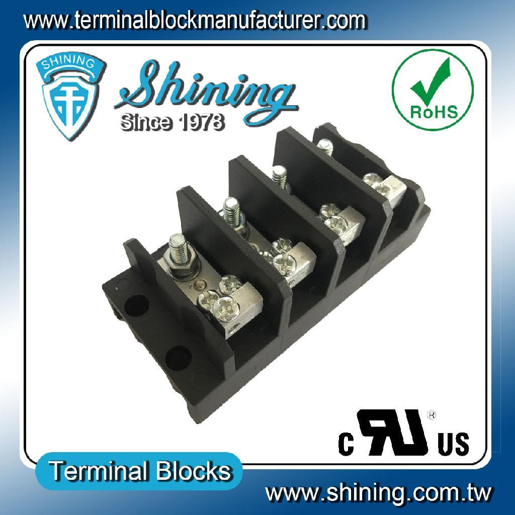 TGP-050-04RLC 600V 50A 4Pole配電柱螺栓端子台