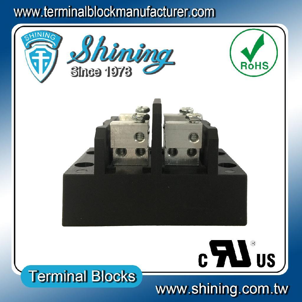 TGP-050-02MCC 600V 50A 2Pole 配電併接端子台