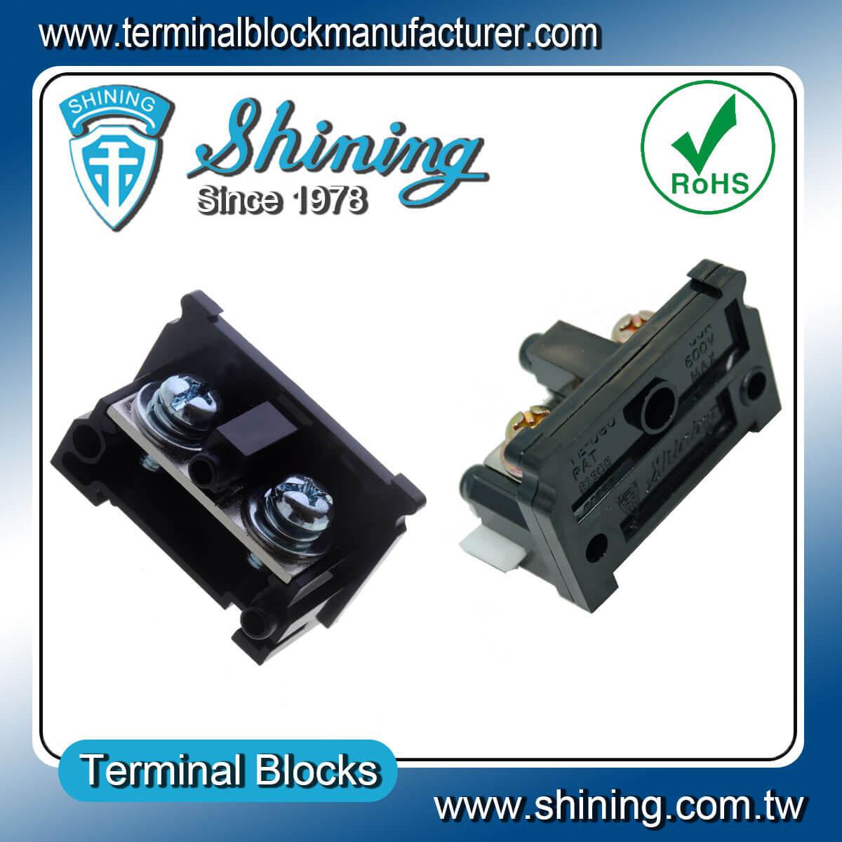 TE-080 600V 80A 35mm軌道組合式端子台