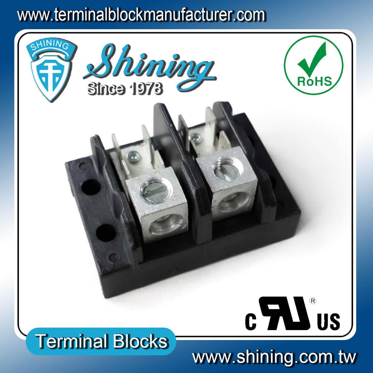 Tgp 050 Xxa1 Series 600v 50a Electrical Power Terminal Block Wiring 02a1 2pole Termi
