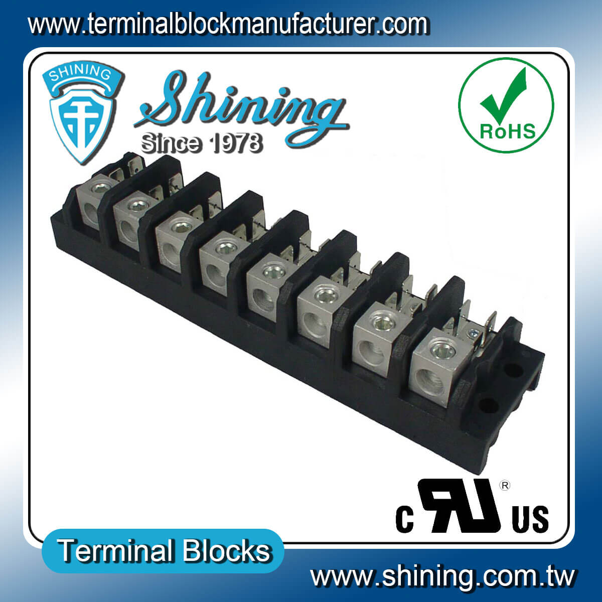 TGP-085-08A 600V 85A 8Pole電源端子台