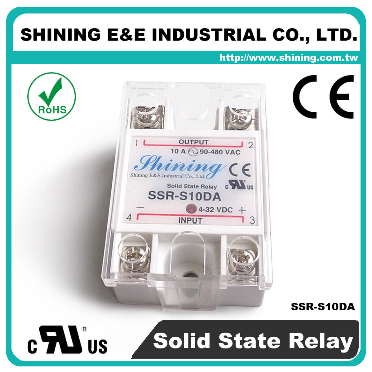 Ssr Sxxda Series Dctoac Single Phase Solid State Relay There Are Dc Relays And Ac S10da To 10a 280vac S