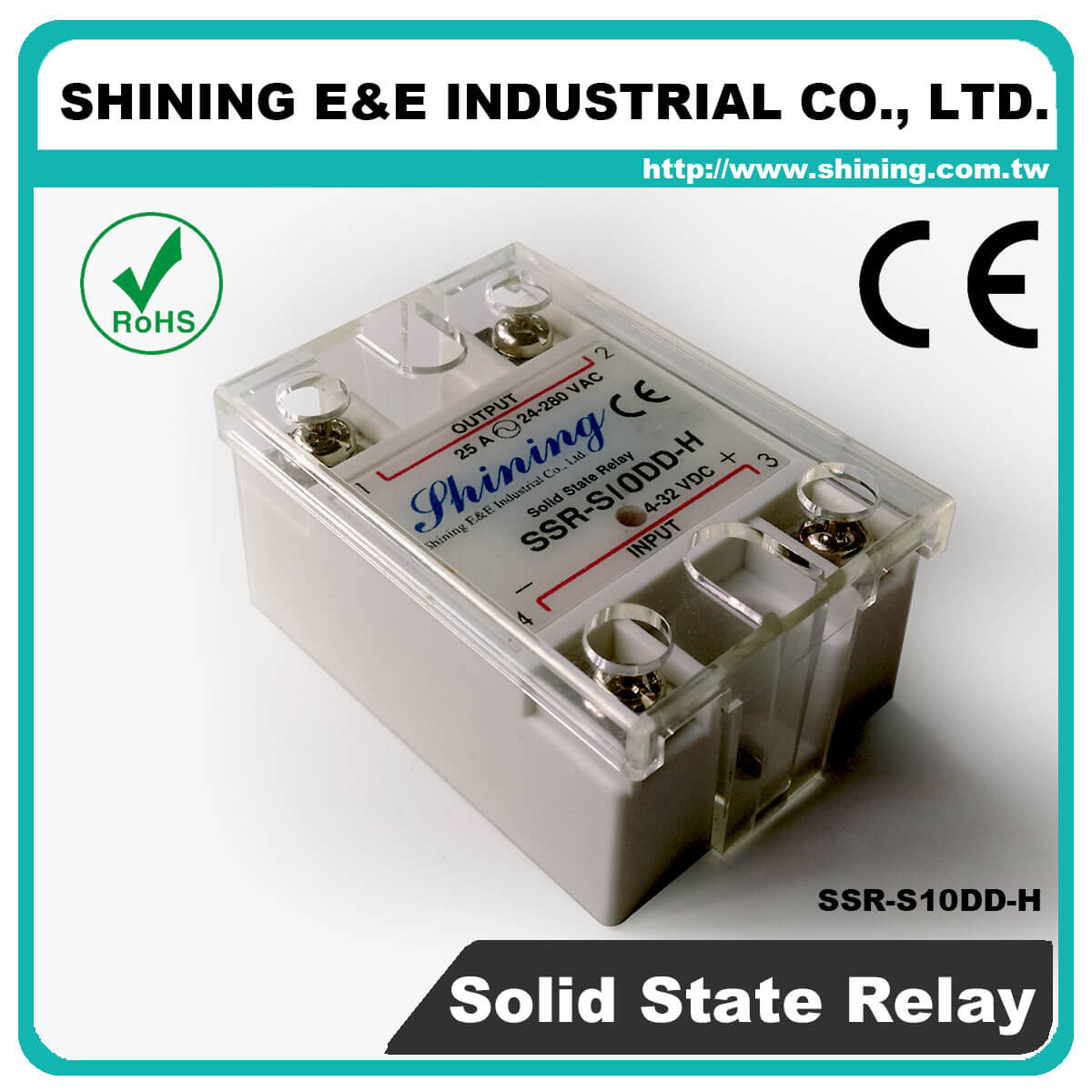 Ssr Sxxdd H Series Vrtoac Single Phase Solid State Relay Latch Up S10dd Dc To 10a 120vdc