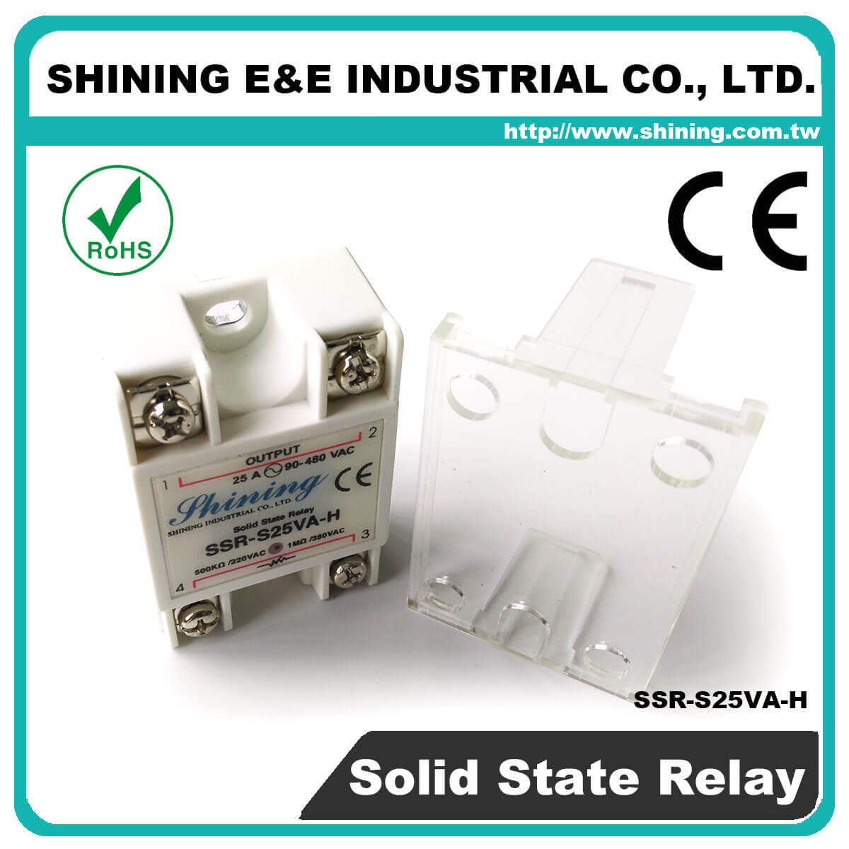 Ssr Sxxva Series Vrtoac Single Phase Solid State Relay The Professional S25va H Vr To Ac 25a 480vac