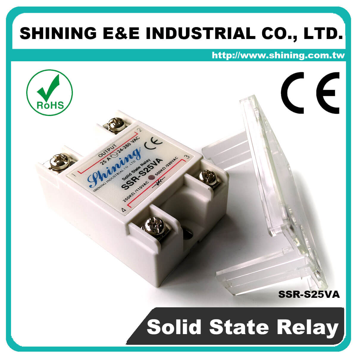 Ssr Sxxva Series Vrtoac Single Phase Solid State Relay The Professional S25va Vr To Ac 25a 280vac S