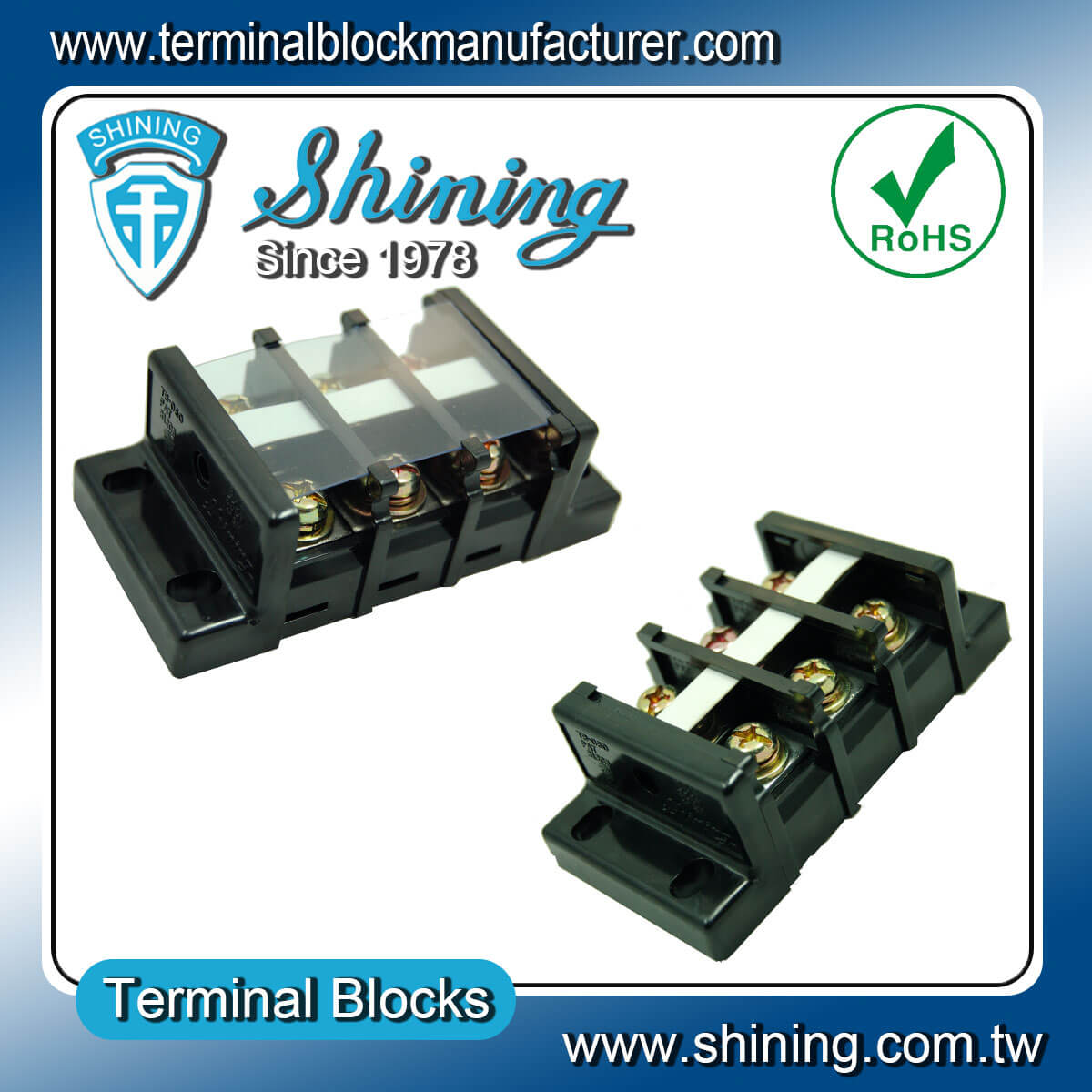 TB-060 600V 60A 組合式柵欄端子台