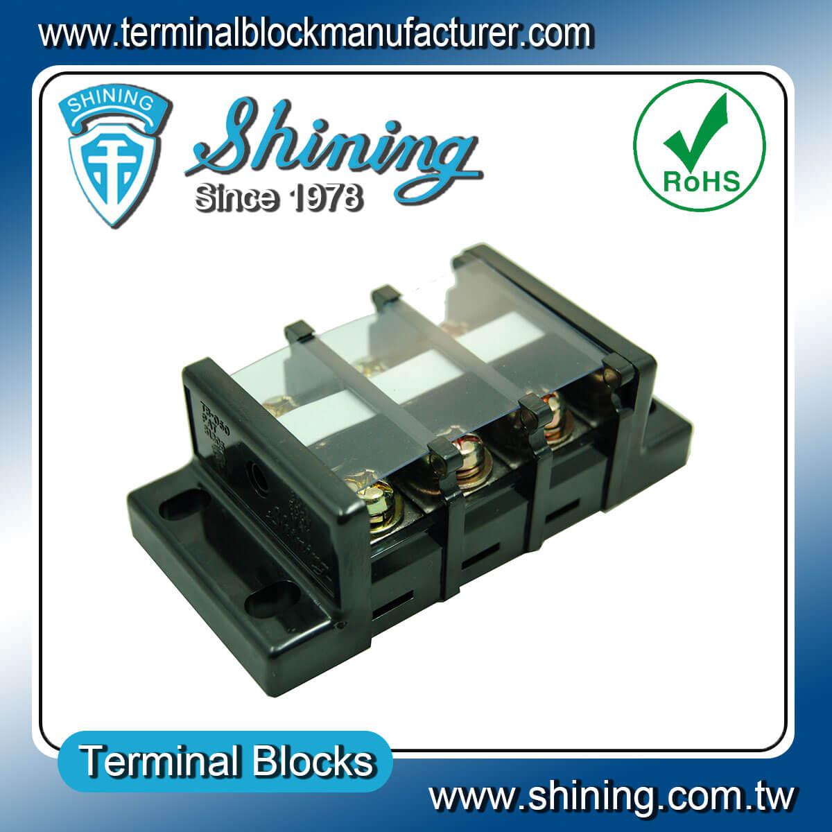TB-080 600V 80A 組合式柵欄端子台