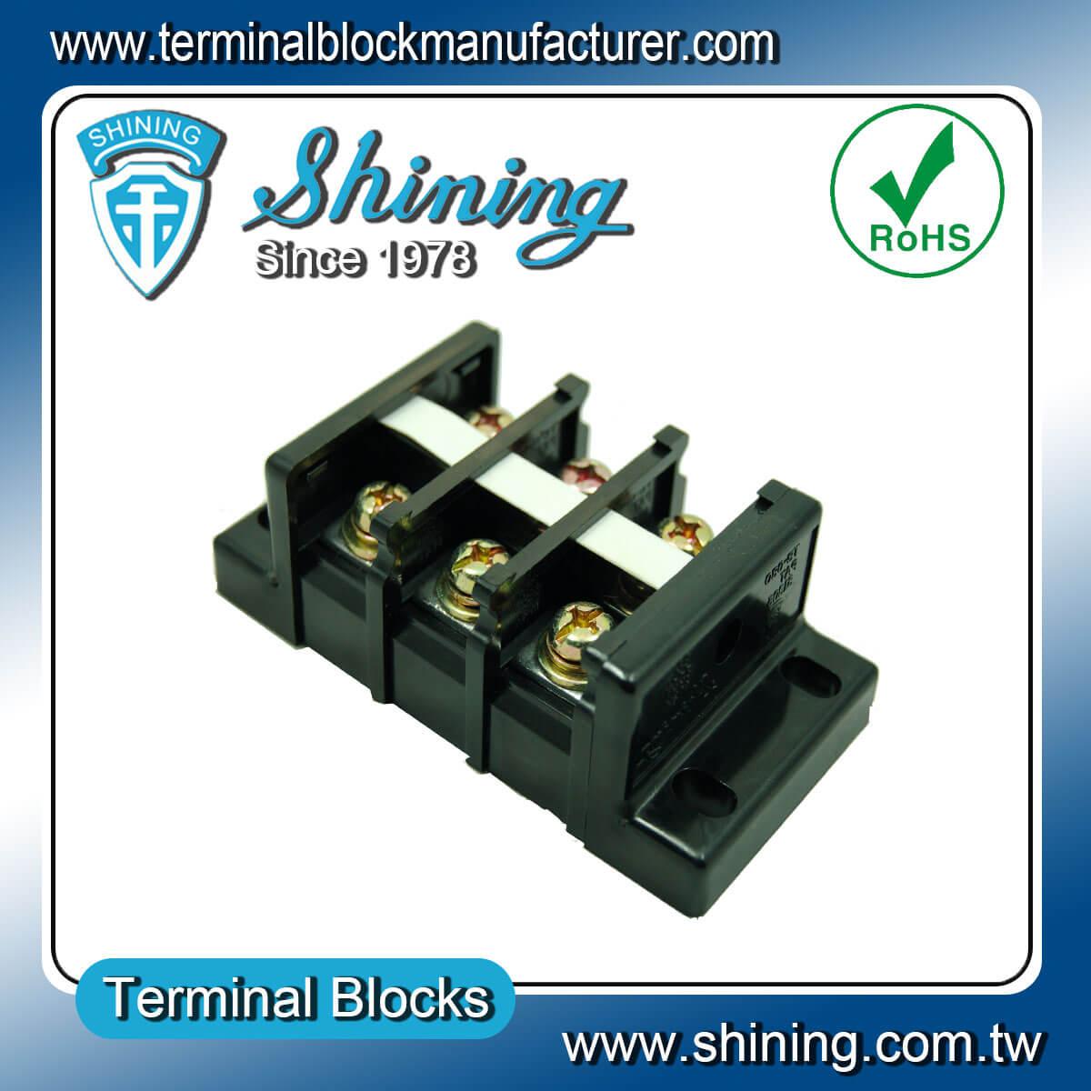 TB-100 600V 100A 組合式柵欄端子台