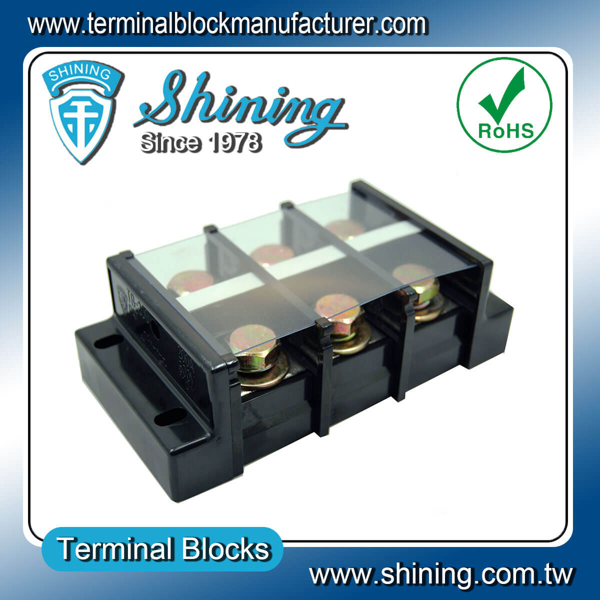 TB-200 600V 200A 組合式柵欄端子台
