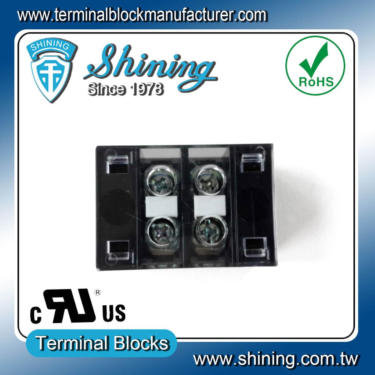 TB-31502CP 300V 15A 2Pole固定式柵欄端子台