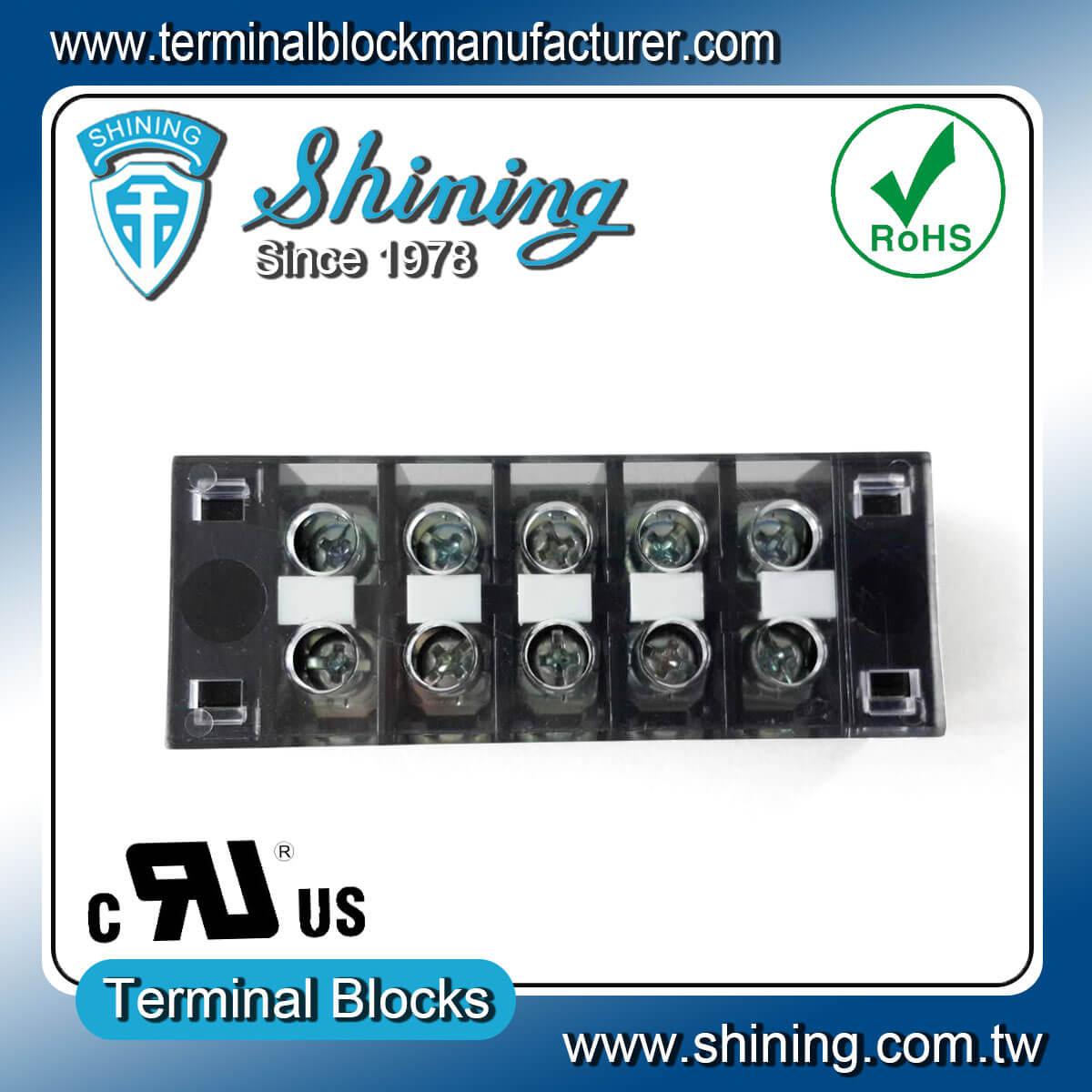 TB-31505CP 300V 15A 5Pole固定式柵欄端子台