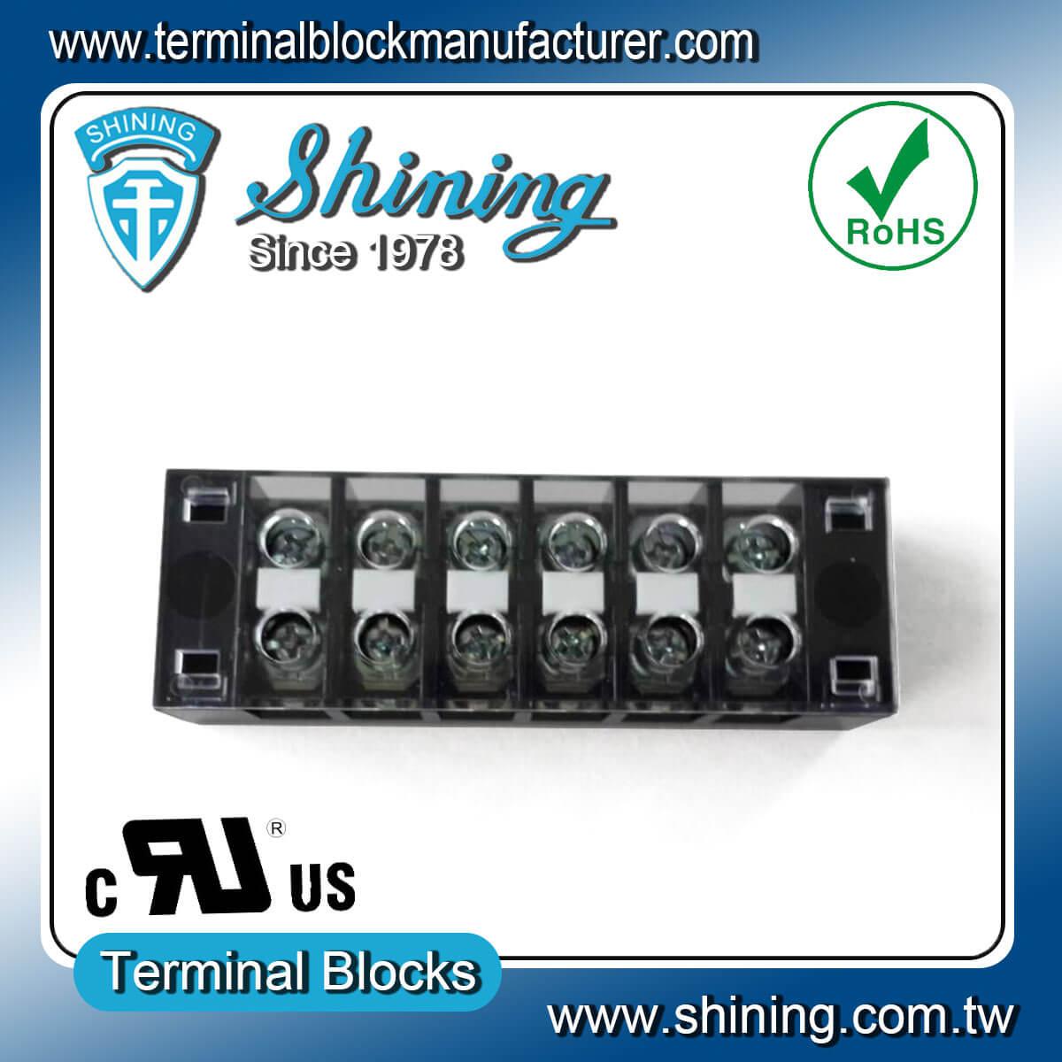 TB-31506CP 300V 15A 6Pole固定式柵欄端子台