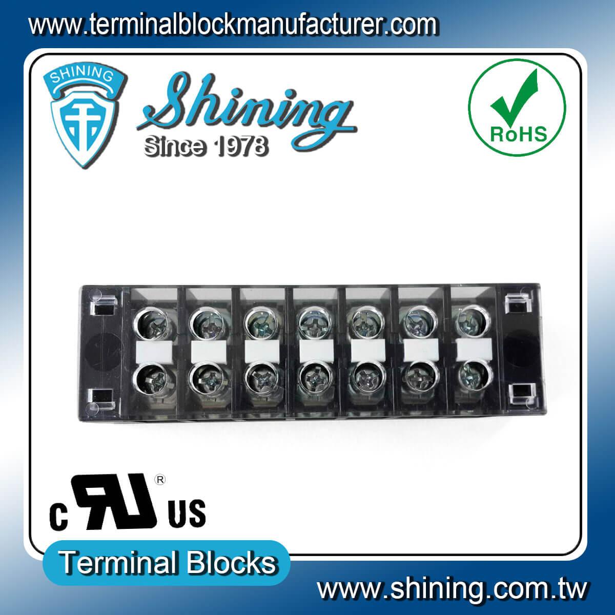 TB-31507CP 300V 15A 7Pole固定式柵欄端子台