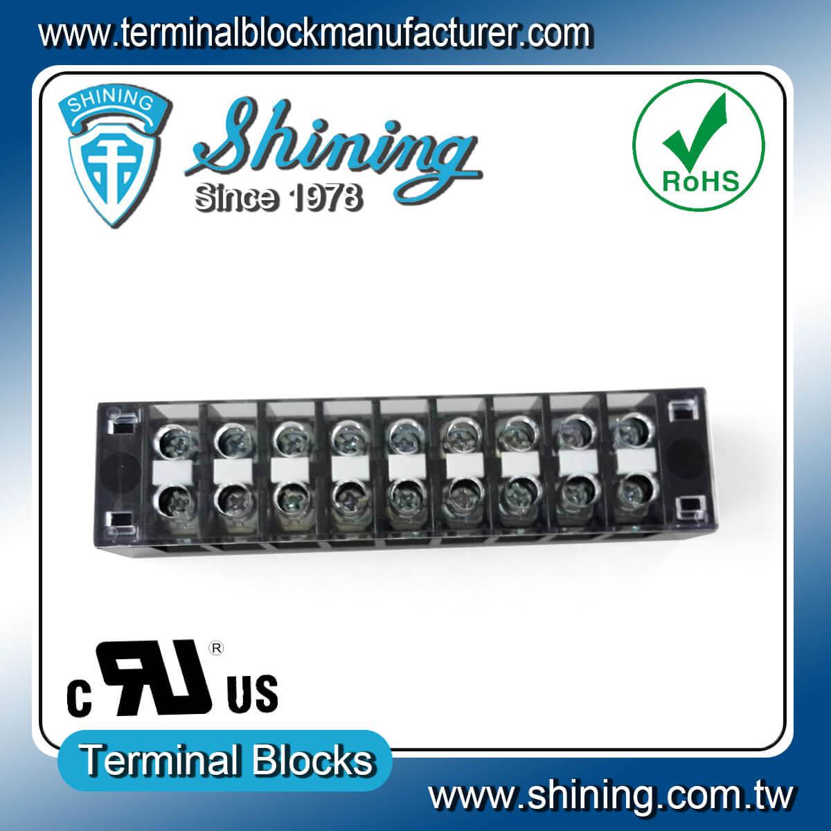 TB-31509CP 300V 15A 9Pole固定式柵欄端子台