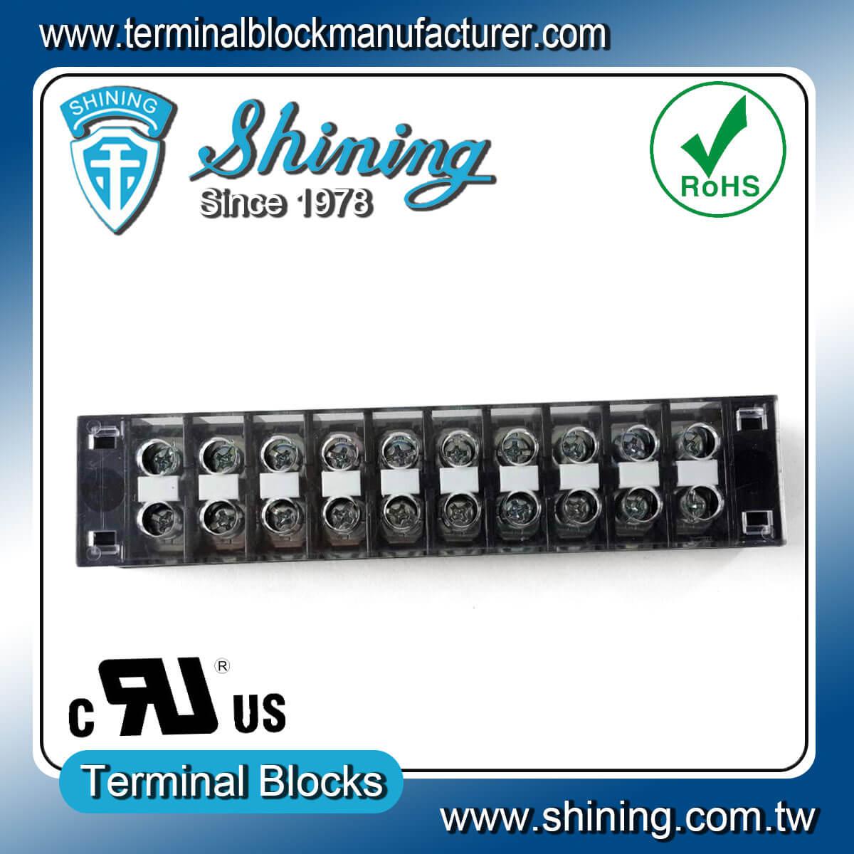TB-31510CP 300V 15A 10Pole固定式柵欄端子台