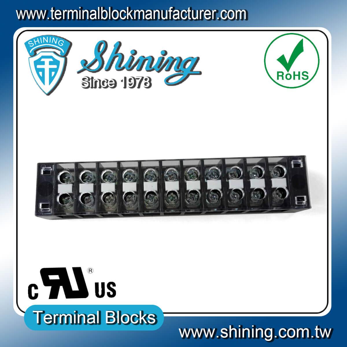 TB-31511CP 300V 15A 11Pole固定式柵欄端子台