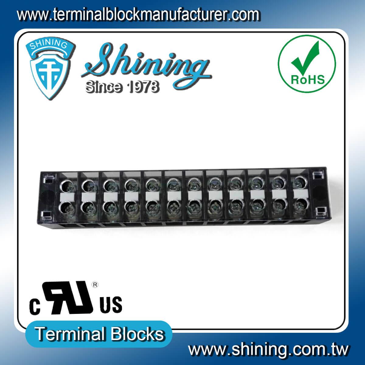 TB-31512CP 300V 15A 12Pole固定式柵欄端子台