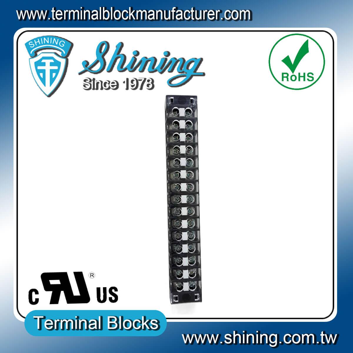 TB-31515CP 300V 15A 15Pole固定式柵欄端子台
