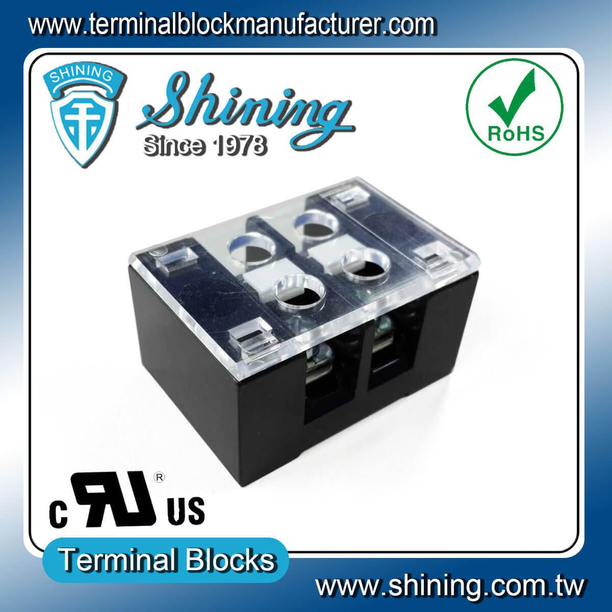 TB-32502CP 300V 25A 2Pole固定式柵欄端子台