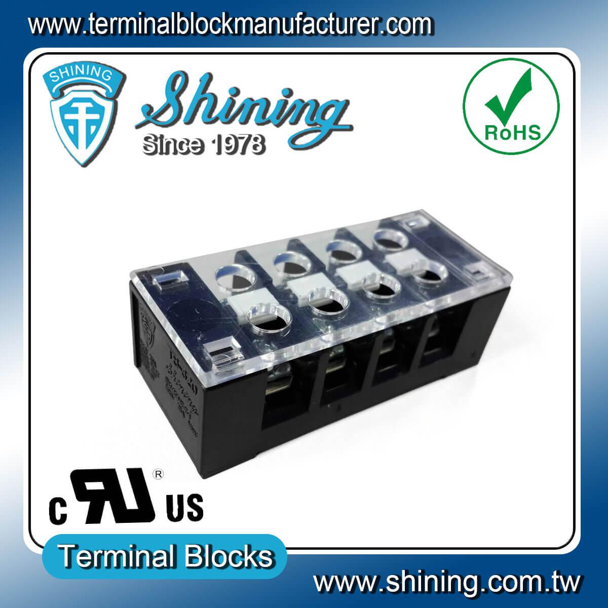 TB-32504CP 300V 25A 4Pole固定式柵欄端子台