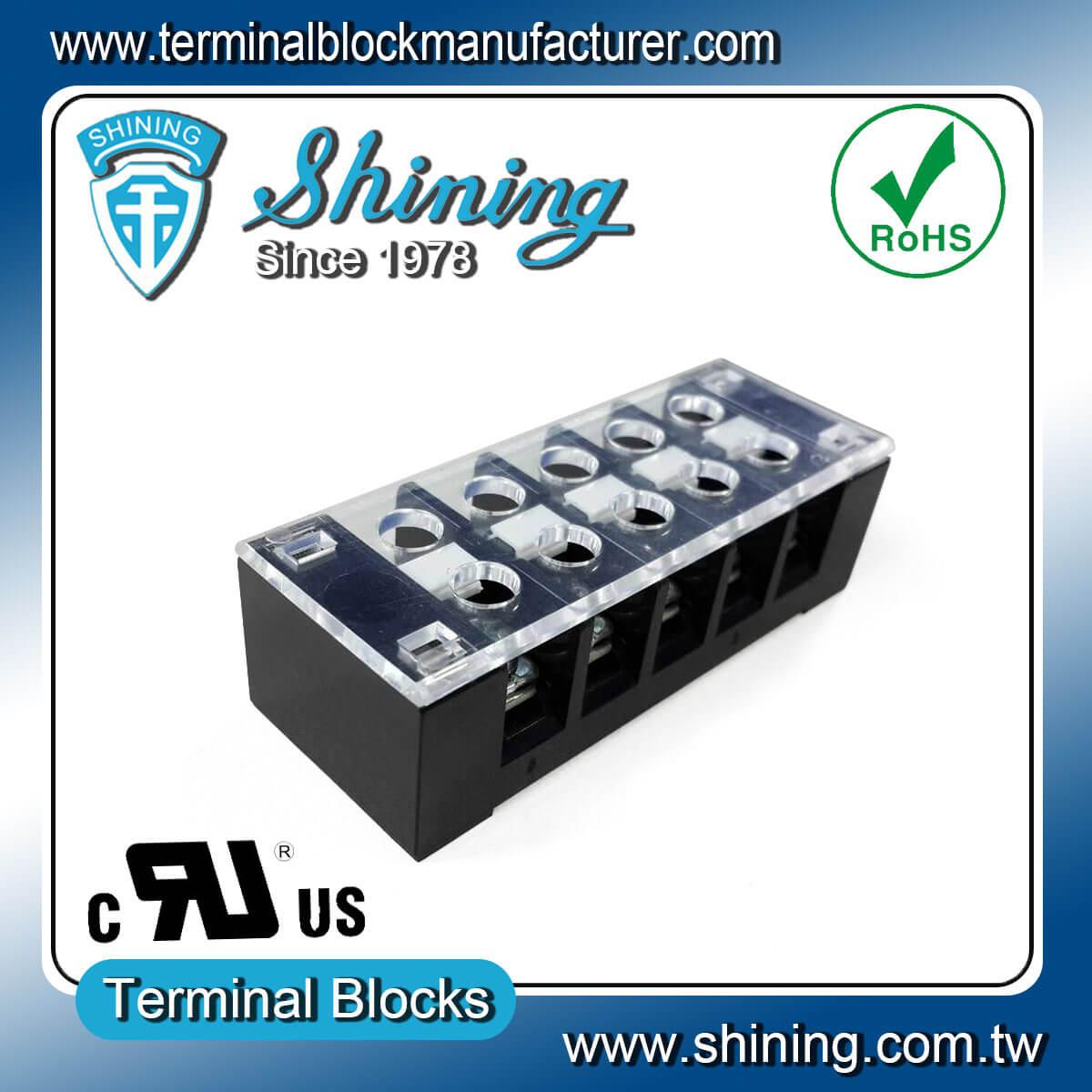 TB-32505CP 300V 25A 5Pole固定式柵欄端子台