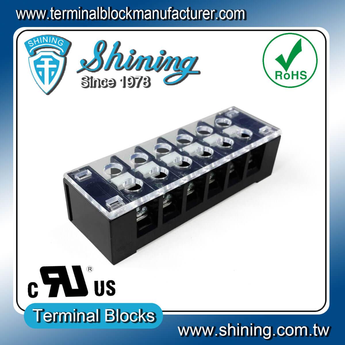 TB-32506CP 300V 25A 6Pole固定式柵欄端子台