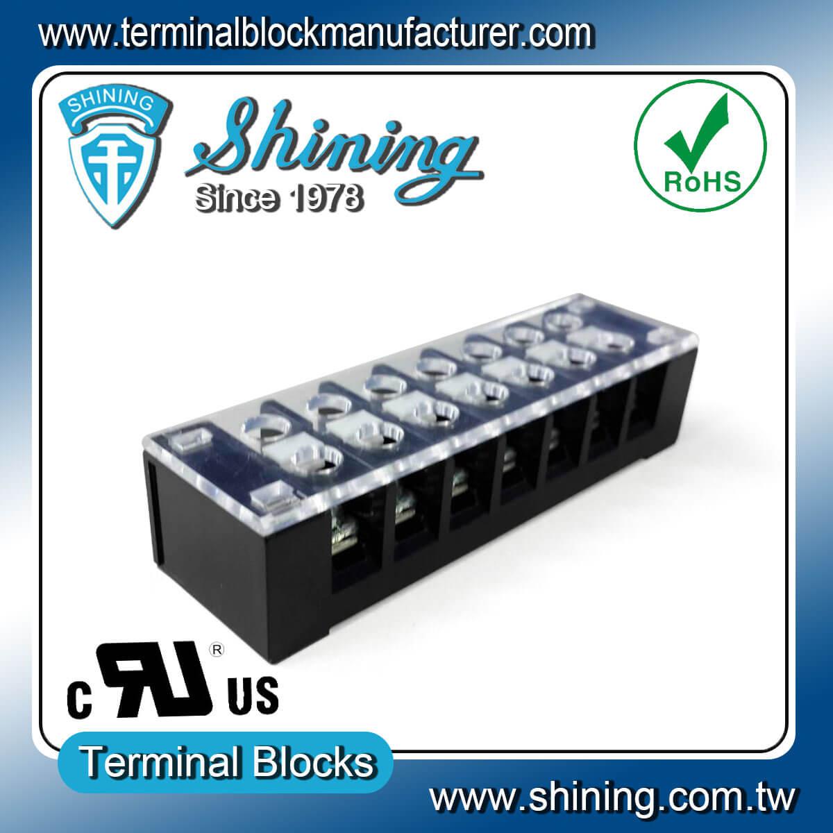 TB-32507CP 300V 25A 7Pole固定式柵欄端子台
