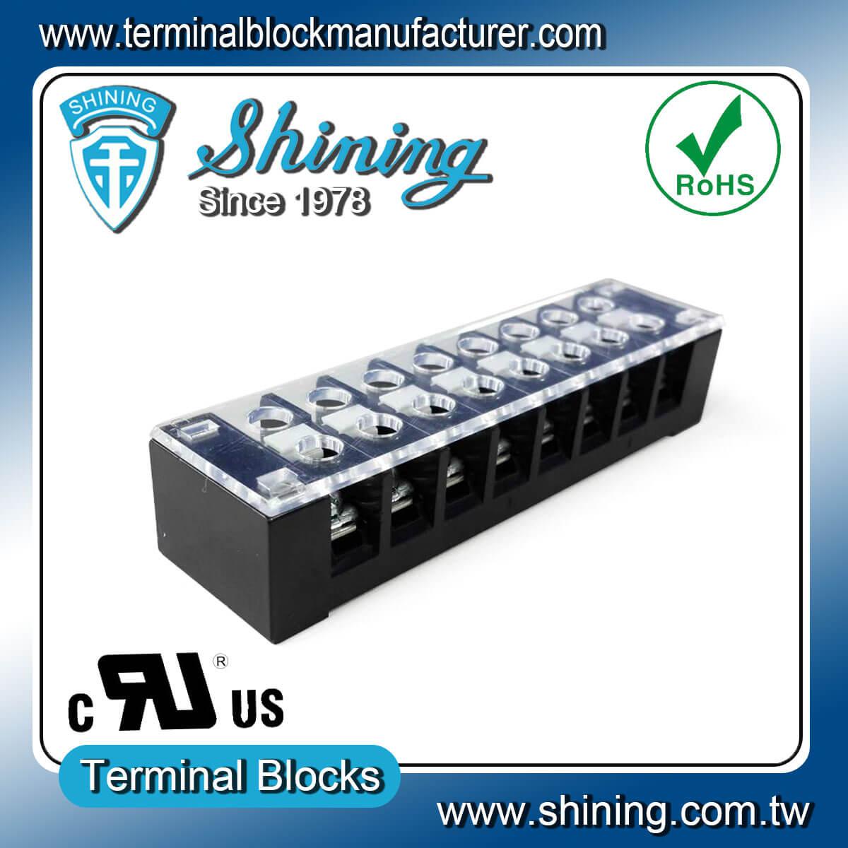 TB-32508CP 300V 25A 8Pole固定式柵欄端子台