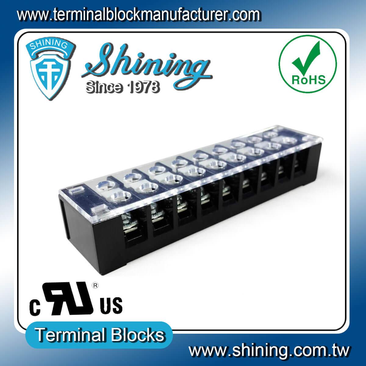 TB-32509CP 300V 25A 9Pole固定式柵欄端子台