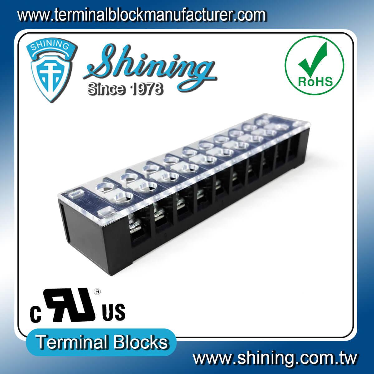 TB-32510CP 300V 25A 10Pole固定式柵欄端子台