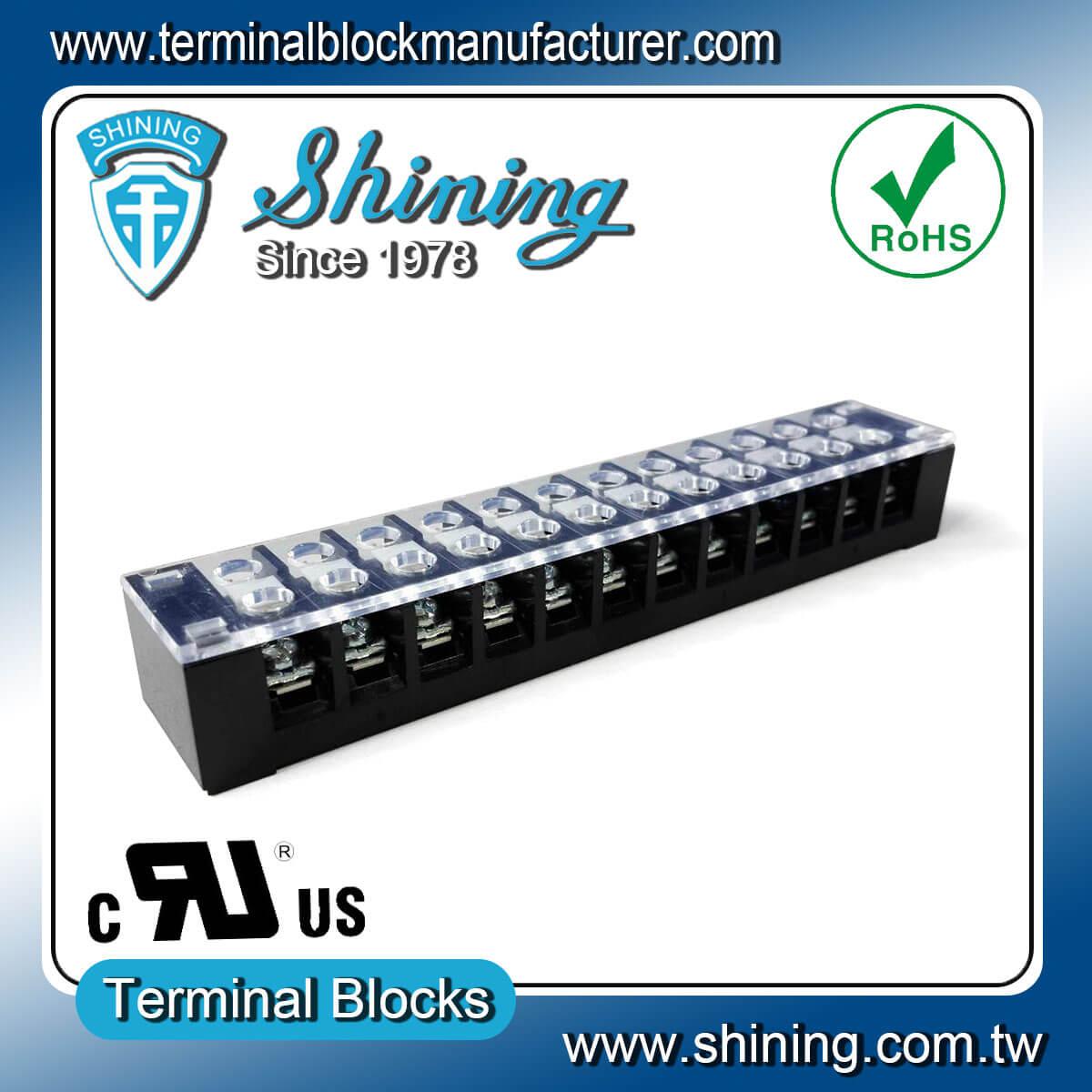 TB-32512CP 300V 25A 12Pole固定式柵欄端子台