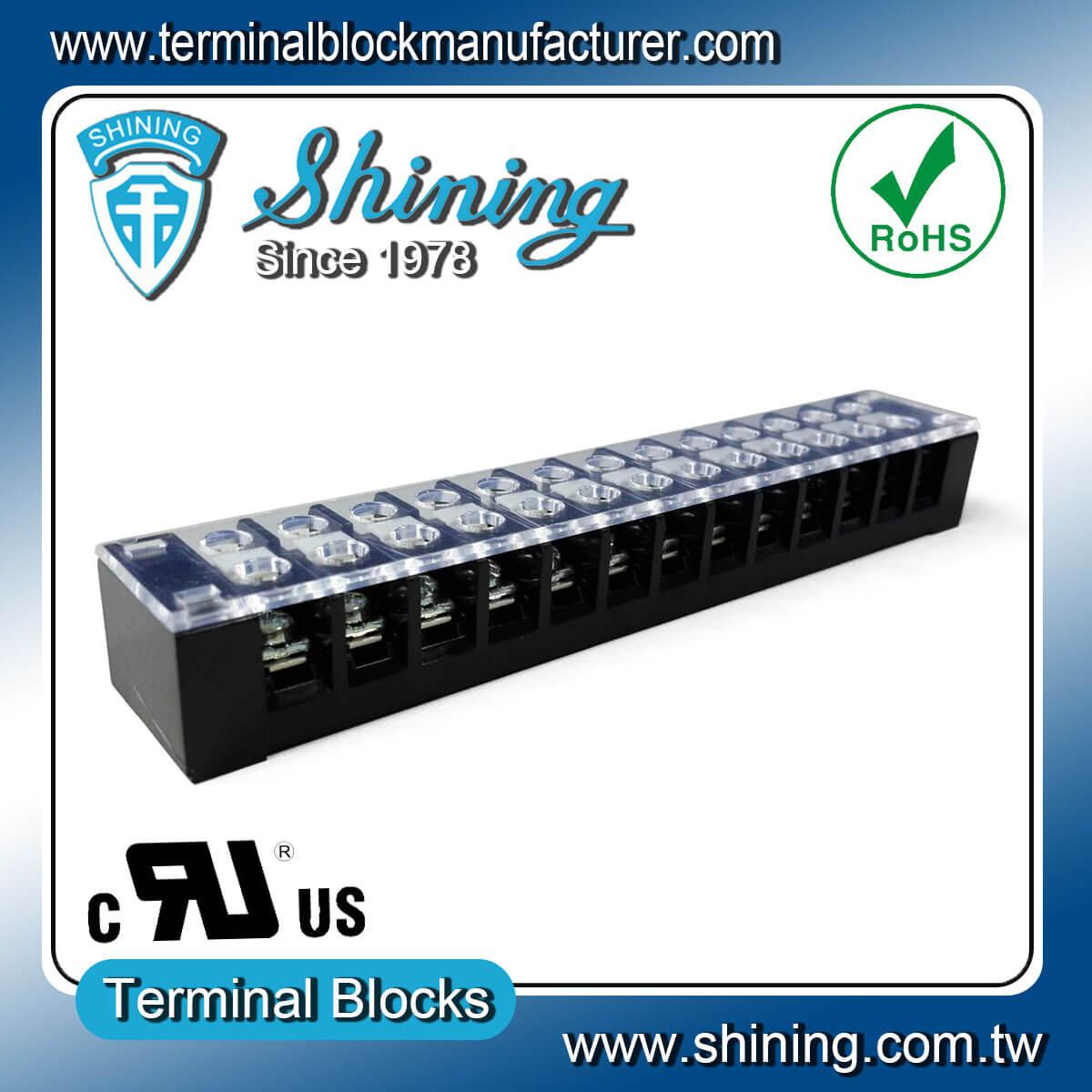 TB-32513CP 300V 25A 13Pole固定式柵欄端子台