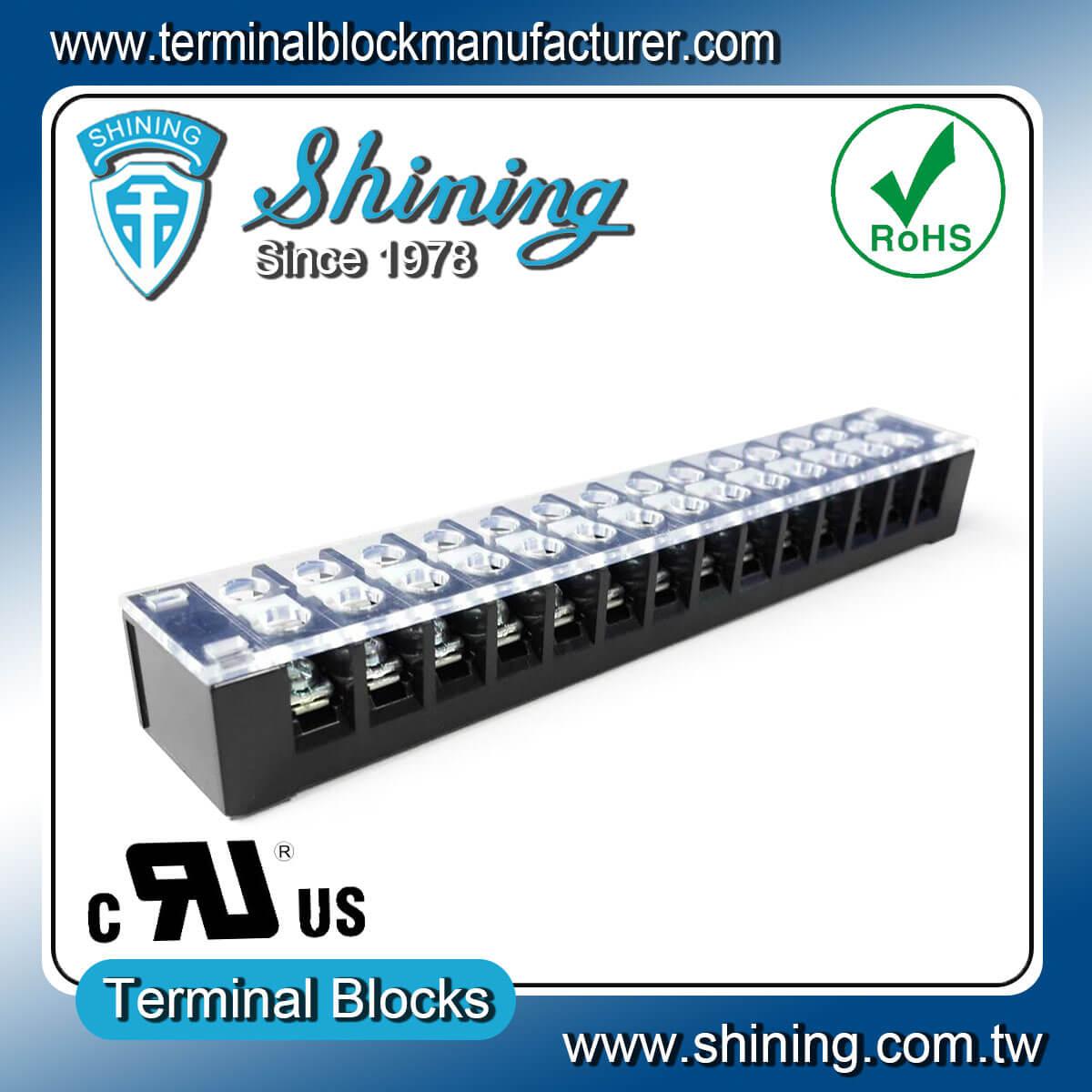 TB-32514CP 300V 25A 14Pole固定式柵欄端子台