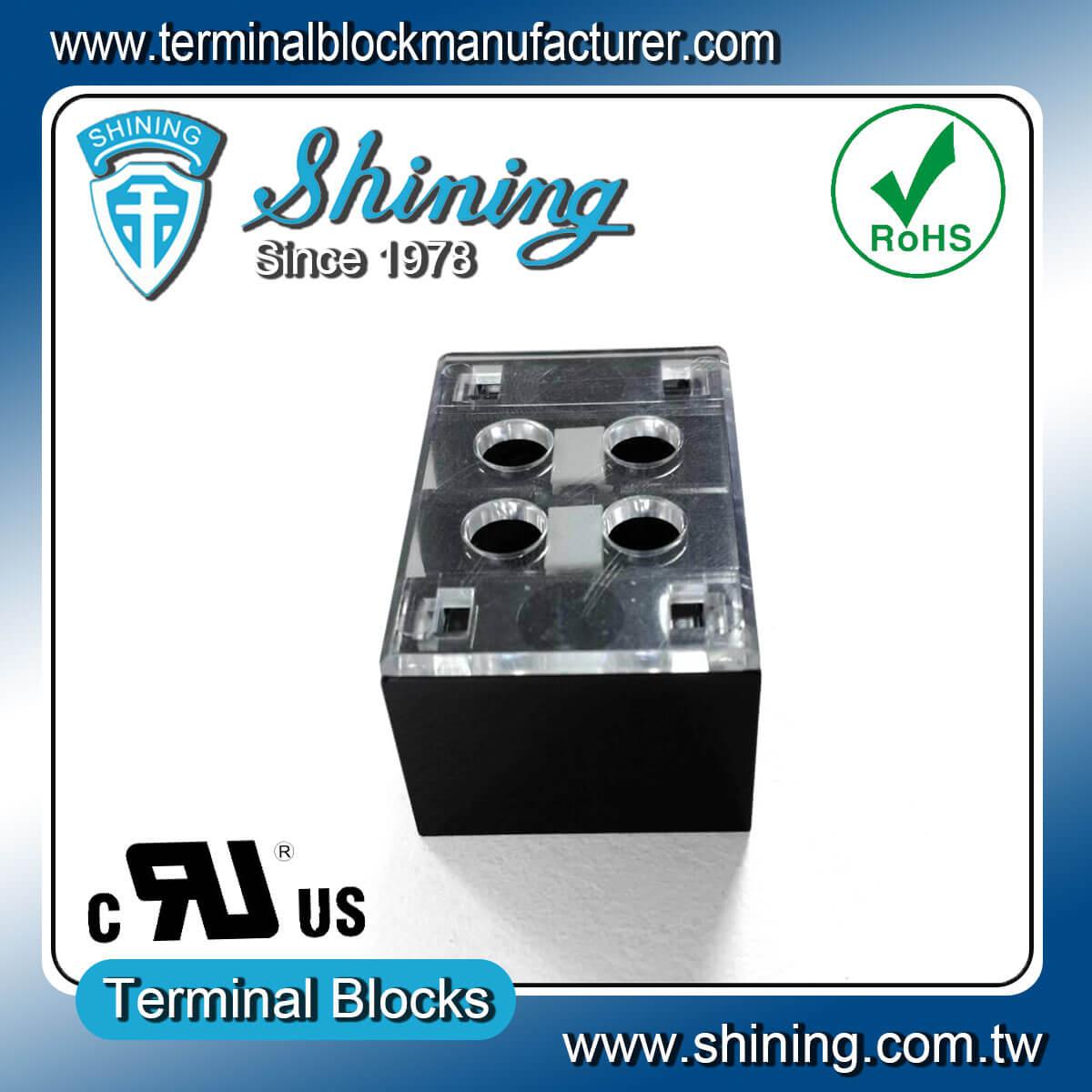 TB-33502CP 300V 35A 2Pole固定式柵欄端子台