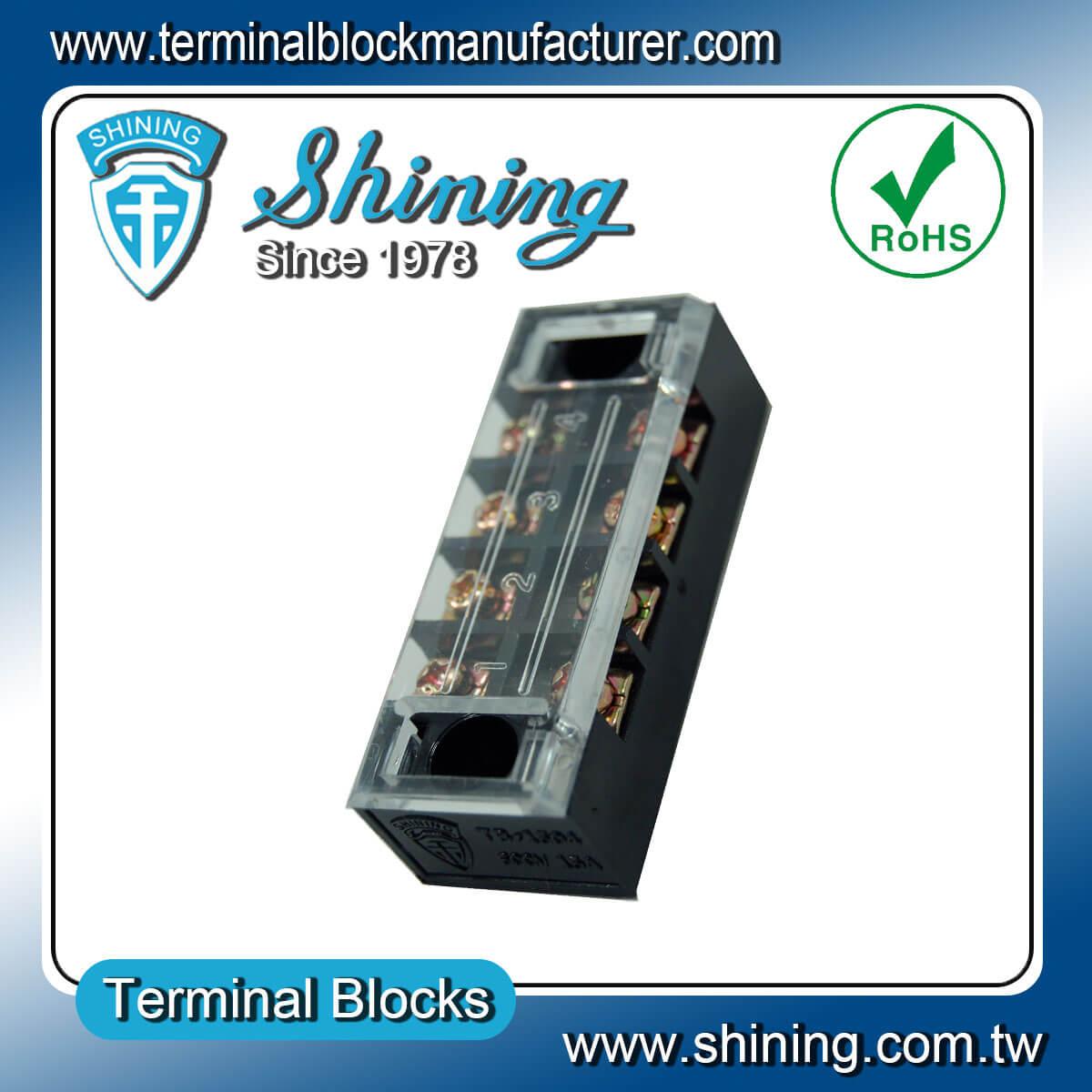 TB-3504 600V 35A 4Pole固定式柵欄端子台