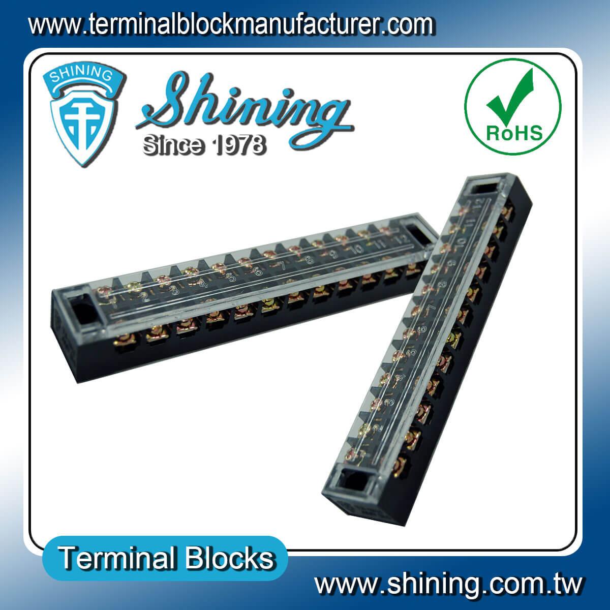 TB-3512 600V 35A 12Pole固定式柵欄端子台
