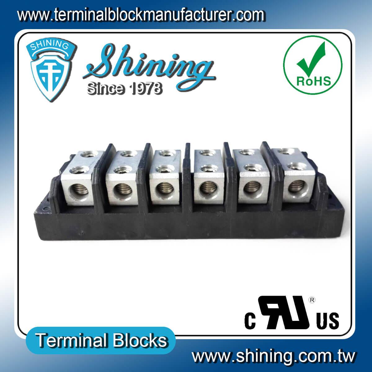 TGP-050-06BHH 600V 50A 6Way電源併接端子台