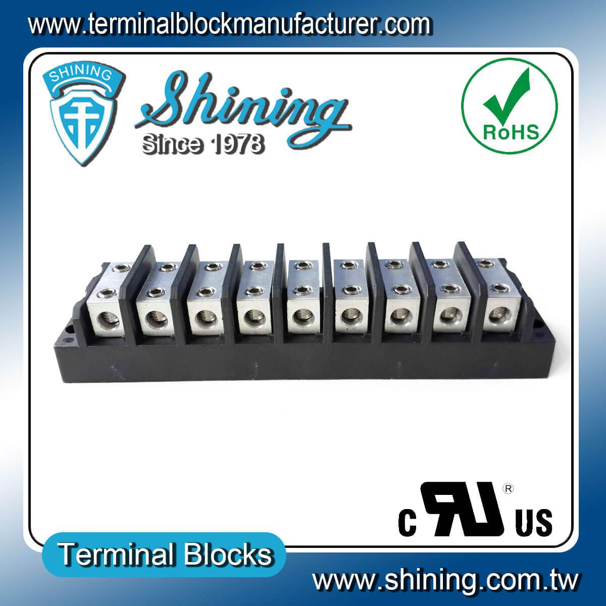 TGP-050-09BHH 600V 50A 9Way電源併接端子台
