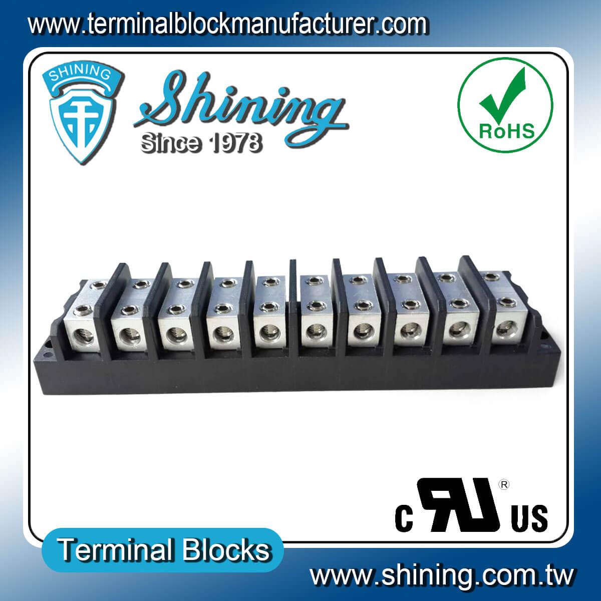 TGP-050-10BHH 600V 50A 10Way電源併接端子台