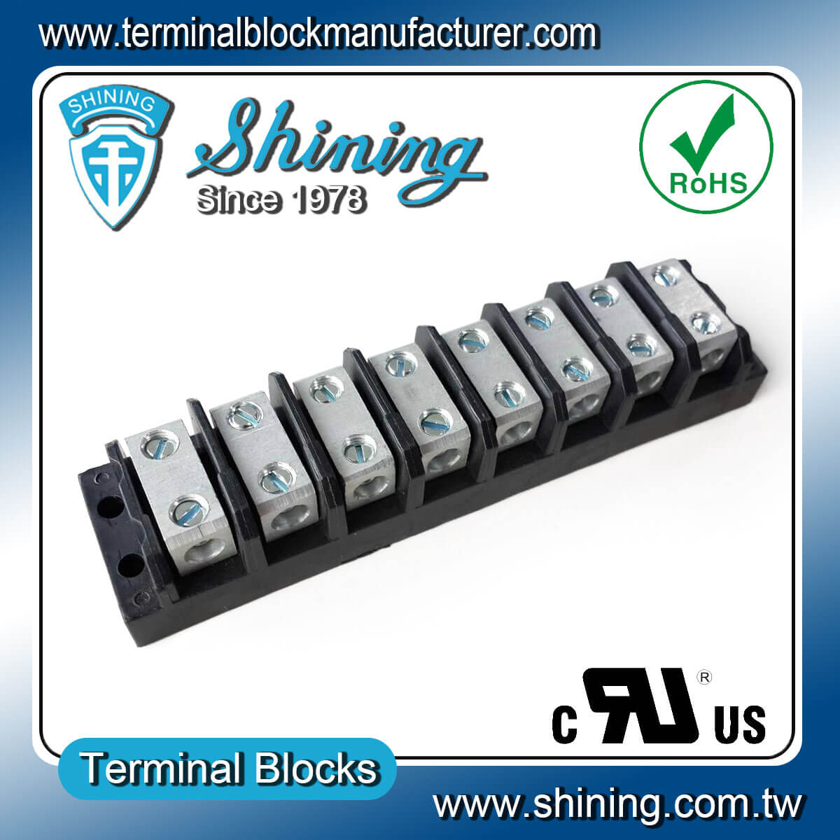 TGP-085-08BSS 600V 85A 8Way電源併接端子台